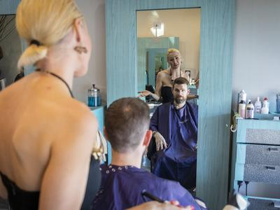 Hair Cut salon reBelle
